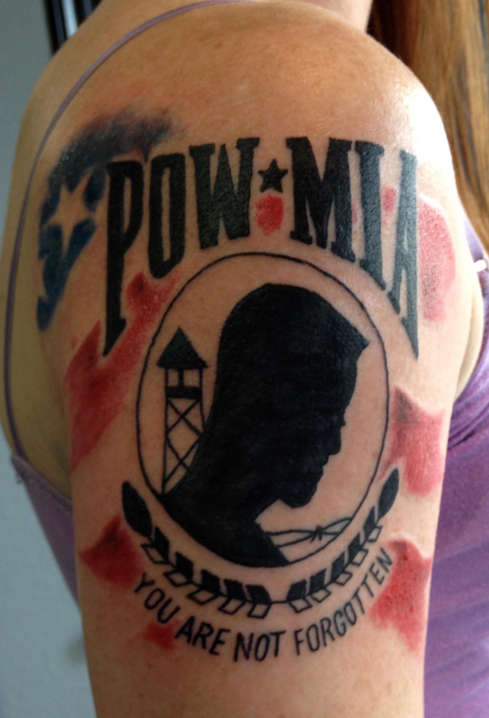 301 moved permanently for Pow mia tattoo